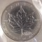 2000 Canadian Silver Maple Leaf   (Fireworks Privy)