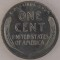 1943 Lincoln Cent zinc-coated steel