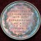 1851 City of Zurich Switzerland Medal Toned