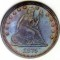 1875 Seated Liberty Quarter Dollar
