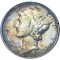 1945 Mercury Dime Toned