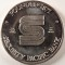 Security Pacific Bank 1 ounce silver round