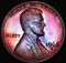 1968 S Lincoln Cent Proof Toned