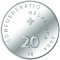2004 B Swiss Silver 20 Francs The Bellinzona Castles