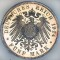1914 E Germany Saxony 5 Marks Proof