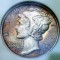 1917 Mercury Dime FB Toned
