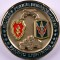 Military Police Brigade Hawaii Pacific Lightning Challenge Coin