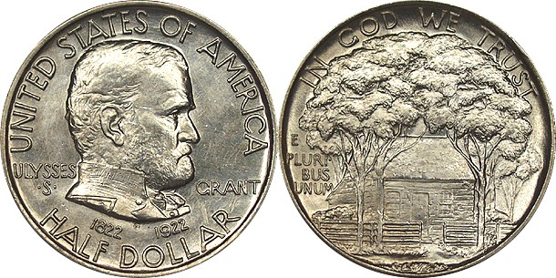 1922 Grant Memorial Commemorative Half Dollar
