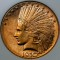 1910 D $10 Indian Head Gold Eagle