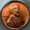 1952 Lincoln Cent Red