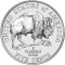 2005 S Jefferson Nickel American Bison Reverse (Design)