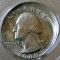 1980 P Washington Quarter 10% Off Center Mint Error