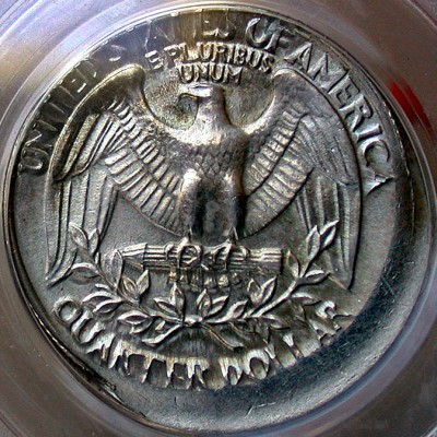 Coin Page: 1980 P Washington Quarter 10% Off Center Mint Error