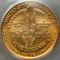 1987 W Constitution Bicentennial Commemorative Gold Five Dollar UNC