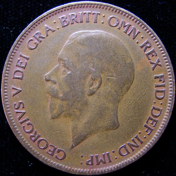click for larger picture of 1930 Great Britain Penny