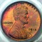1915 Lincoln Cent RB Red Brown