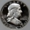 1956 Franklin Half Dollar Proof (Type 1)  Obverse Cameo