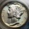 1934 Mercury Dime FB Full Bands
