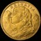 1922 B  Swiss Gold 20 Francs