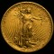 1922 Gold St.Gaudens $20 Double Eagle with 2 extra incuse stars on edge