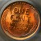 1936 Lincoln Cent Red