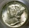 1938 D Mercury Dime FB (Full Bands)