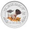2007 Australian Silver Pig Coloured Edition 1 ounce 1 Dollar