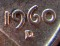 1960 D Lincoln Cent LD (Large Date)
