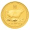 2007 P Australian Gold Proof Pig 1/4 ounce 25 Dollars