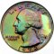 1972 S Washington Quarter Dollar Proof Toned