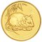 2008 P Australian Gold Mouse Proof 1 ounce 100 Dollars