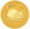 2008 P Australian Gold Mouse Proof 10 Kilo 30,000 Dollars