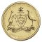 2008 C Australia Dollar 100th Anniversary Original Coat of Arms