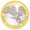 2008 B Swiss 10 Francs Bimetallic Swiss National Park - Golden Eagle