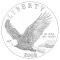 2008 Bald Eagle Commemorative Silver Dollar (line art design)