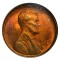 1910 S Lincoln Cent Red