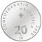 2009 B Swiss Silver 20 Francs 50 years of the Swiss Museum of Transportation