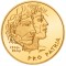 2009 B Swiss Gold 50 Francs 100th Anniversary of the Pro Patria Foundation