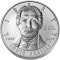 2009 P Louis Braille Bicentennial Silver Dollar Uncirculated