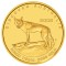 2008 P Australian Dingo 1/25 ounce Gold 5 Dollars Proof