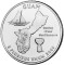 2009 Guam Quarter Dollar Uncirculated