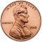 2010 Lincoln Cent  Uncirculated (Shield Reverse)