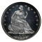 1881 Seated Liberty Half Dollar Cameo Proof