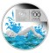 2009 P Australia Silver Dollar Proof 100 years of Swimming
