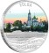2010 P Tuvalu Silver Dollar - Volga River Journey