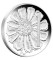 2009 P Australia Silver Cent Proof Waratah - Tribute to 1966 Decimal Pattern