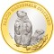 2010 B Swiss 10 Francs Bimetallic Swiss National Park - Alpine Marmot