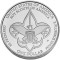 2010 P Boy Scouts of America Centennial Silver Dollar Uncirculated