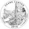 2010 Grand Canyon National Park, Arizona Quarter Dollar (line art design)