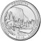 2010 P Yosemite National Park, California Quarter Dollar Uncirculated